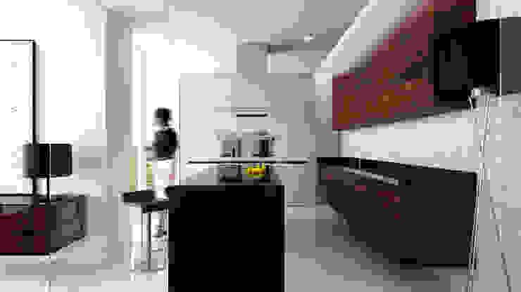 Cocinas de estilo minimalista de living box Minimalista
