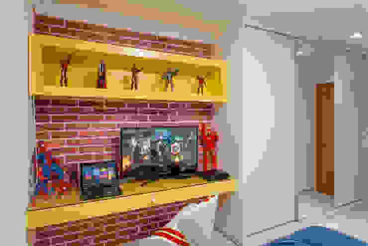 Apartamento Ribeirão Preto Quarto infantil moderno por Designer de Interiores e Paisagista Iara Kílaris Moderno