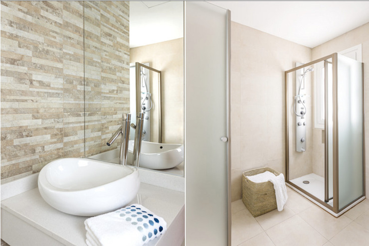 La Casa G: The Sustainable House in Argentina. Modern Bathroom by La Casa G: La Casa Sustentable en Argentina Modern