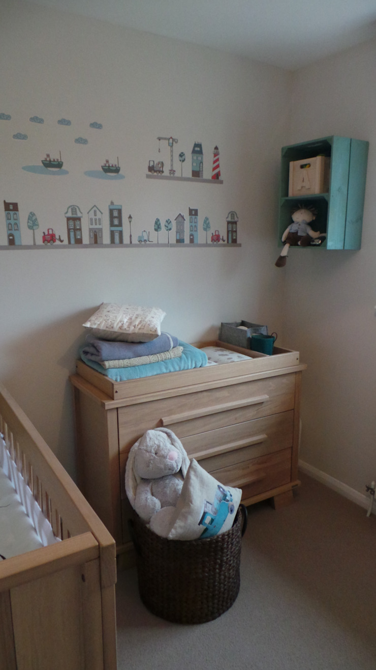 Boy's Nursery Room Modern Kid's Room by Eva Antoniou Interior Design Modern