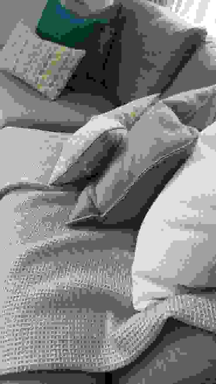 Living Room Cushions & Throws Modern Living Room by Eva Antoniou Interior Design Modern