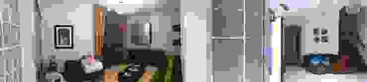 area soggiorno-studio antonio giordano architetto Spogliatoio moderno