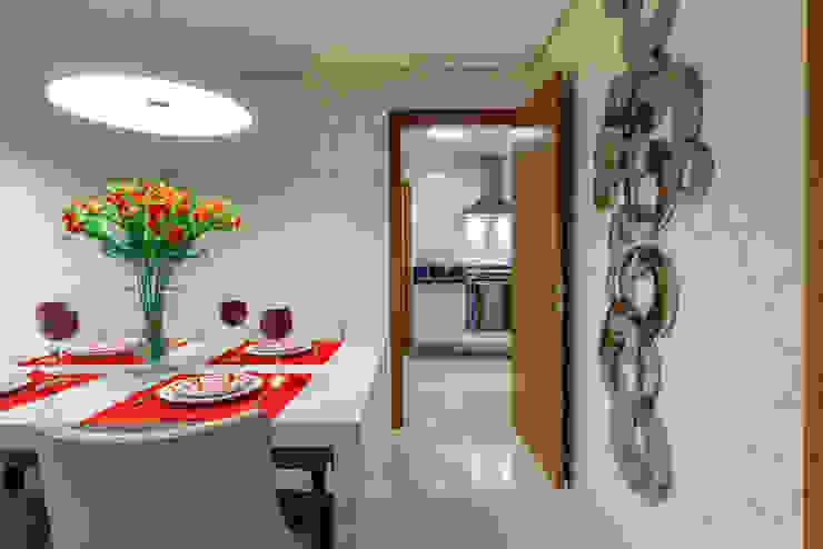 Apartamento Ribeirão Preto Cozinhas modernas por Designer de Interiores e Paisagista Iara Kílaris Moderno
