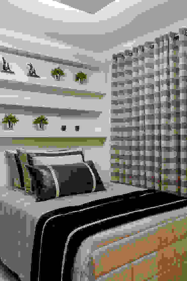 Apartamento Ribeirão Preto Quartos modernos por Designer de Interiores e Paisagista Iara Kílaris Moderno