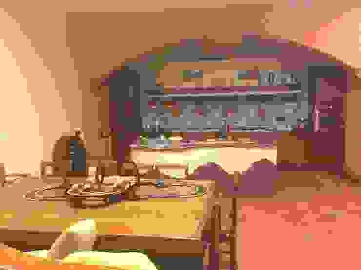 cucina tavernetta antonio giordano architetto Piscina moderna