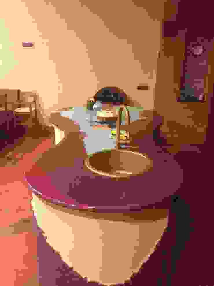 bancone cucina tavernetta antonio giordano architetto Sala multimediale moderna