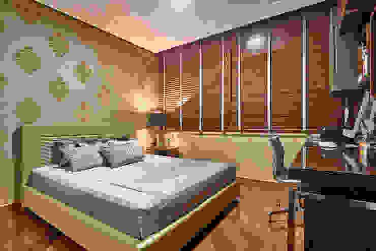 Camera da letto in stile  di Gislene Lopes Arquitetura e Design de Interiores