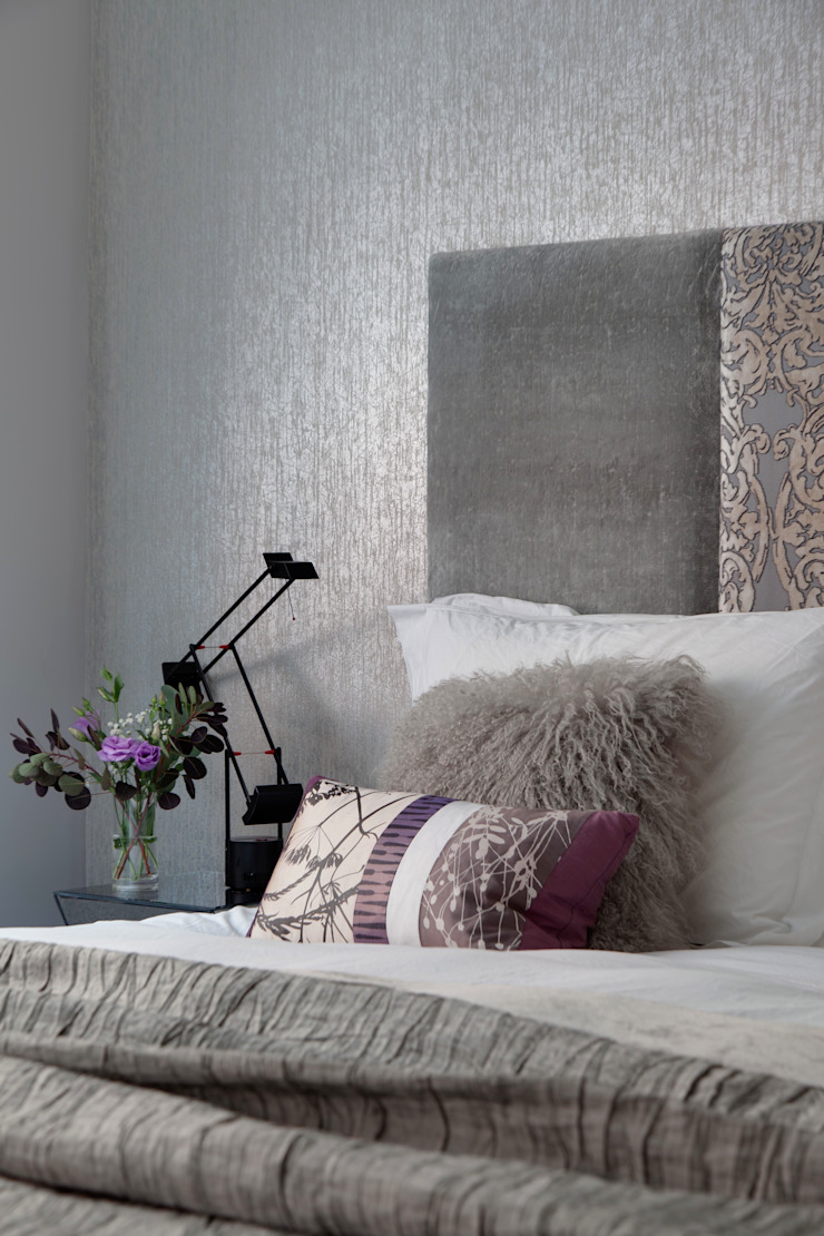 West End Apartment Modern style bedroom by Nicola Holden Designs Modern