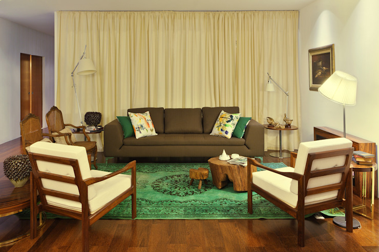 Living room by Tiago Patricio Rodrigues, Arquitectura e Interiores,