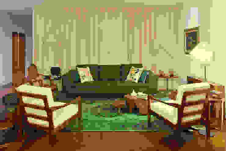 غرفة المعيشة تنفيذ Tiago Patricio Rodrigues, Arquitectura e Interiores, إستعماري