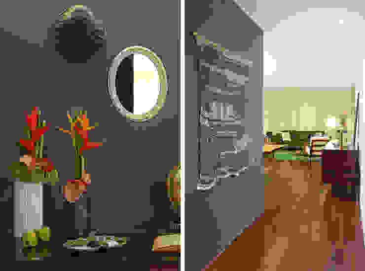 Pasillos, vestíbulos y escaleras de estilo colonial de Tiago Patricio Rodrigues, Arquitectura e Interiores Colonial