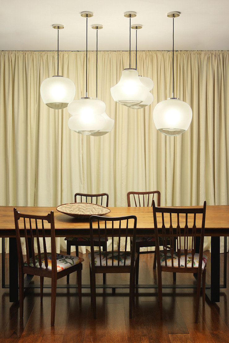 Colonial style dining room by Tiago Patricio Rodrigues, Arquitectura e Interiores Colonial