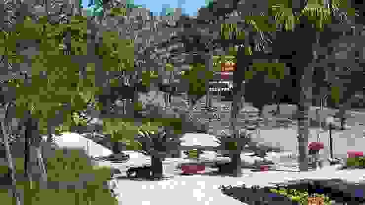 sihirli peyzaj bahçe tasarım proje uygulamaları Sihirli Peyzaj Tropikal