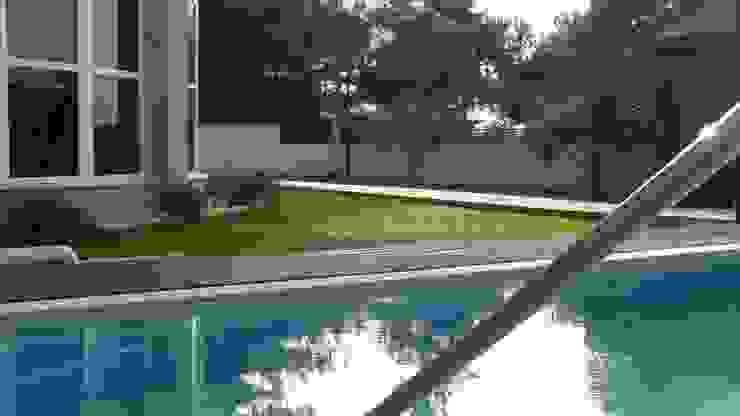 sihirli peyzaj bahçe tasarım proje uygulamaları Modern Havuz Sihirli Peyzaj Modern