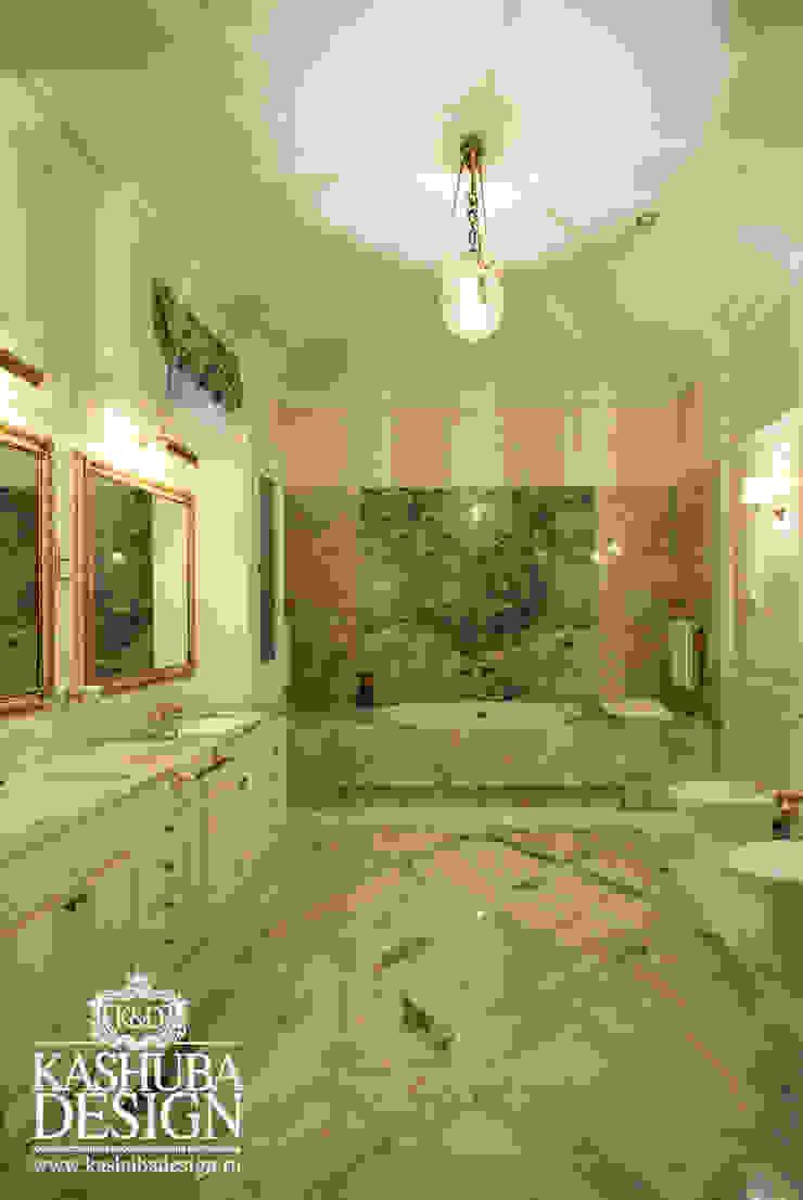 Дом космополит Ванная в классическом стиле от KASHUBA DESIGN Классический