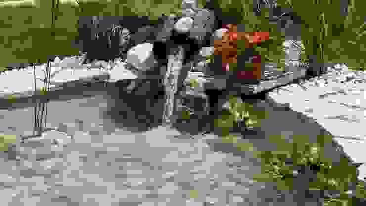 sihirli peyzaj bahçe tasarım proje uygulamaları Akdeniz Oteller Sihirli Peyzaj Akdeniz