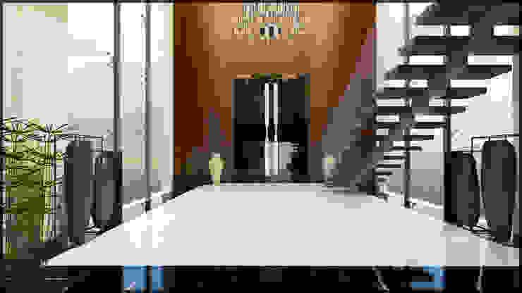 Giriş holü Modern Koridor, Hol & Merdivenler homify Modern