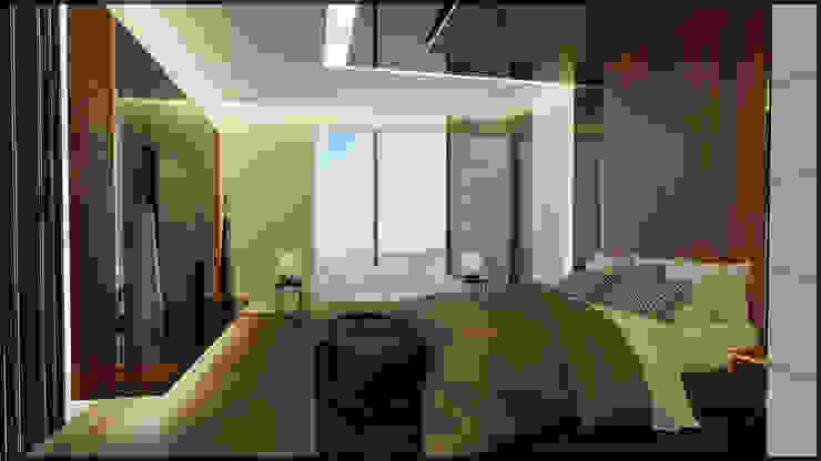 Yatak odası Modern Yatak Odası homify Modern