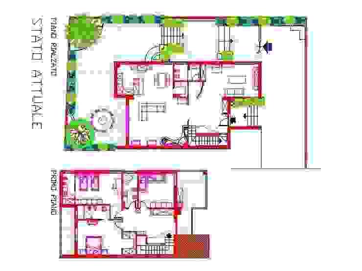 progetto interni antonio giordano architetto Case moderne