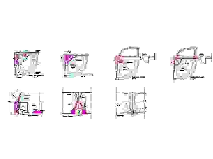 progetto camino tavernetta antonio giordano architetto Case moderne