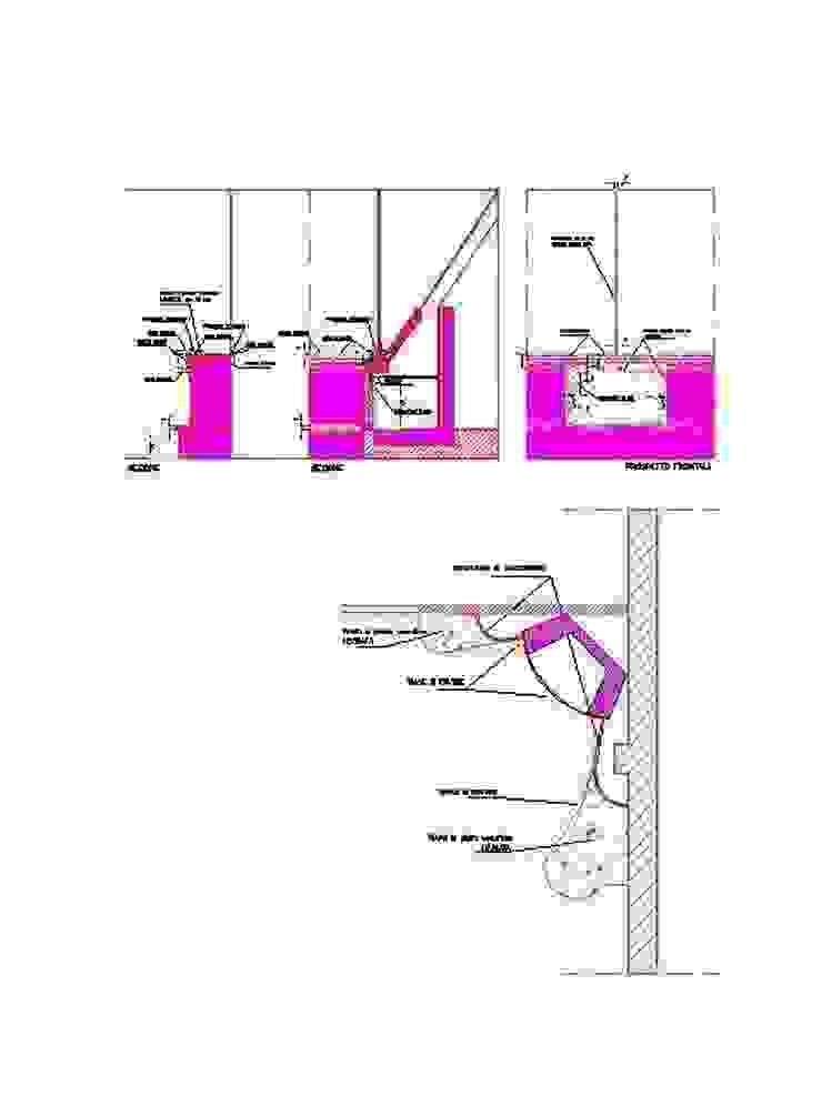antonio giordano architetto Living roomFireplaces & accessories