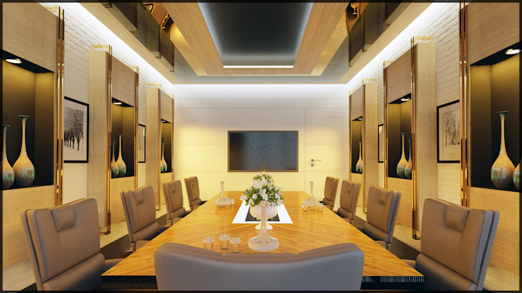 Toplantı odası Modern Multimedya Odası homify Modern