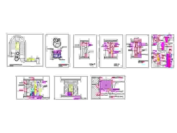 parete chiusura scala di antonio giordano architetto