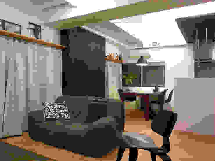 布施M リノベーション オリジナルデザインの リビング の 4建築設計事務所 オリジナル