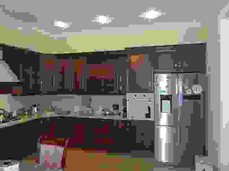 Неоклассика в кухне и гостиной от Москоу Дизайн