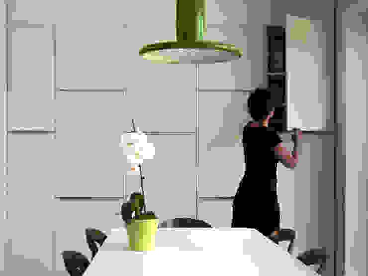 RÉNOVATION 80 Cuisine minimaliste par PIERRE BRIAND ARCHITECTE Minimaliste