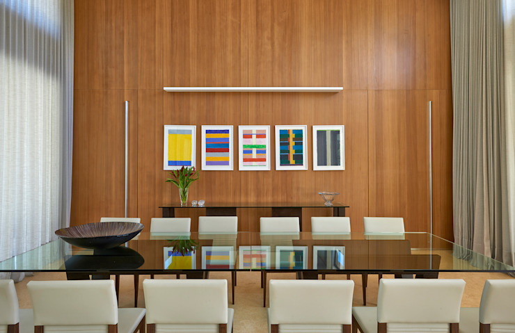 Jantar, Casa Amendoeiras. Salas de jantar modernas por Beth Marquez Interiores Moderno