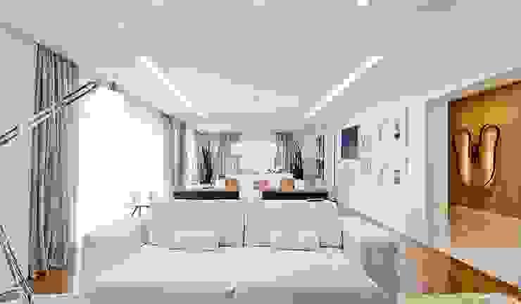 Lapa | Residenciais Salas de estar modernas por SESSO & DALANEZI Moderno