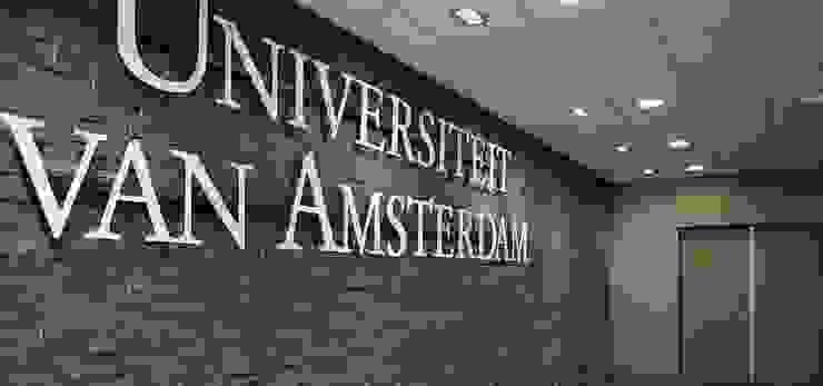Universiteit van Amsterdam Moderne scholen van Xcel Stones Modern