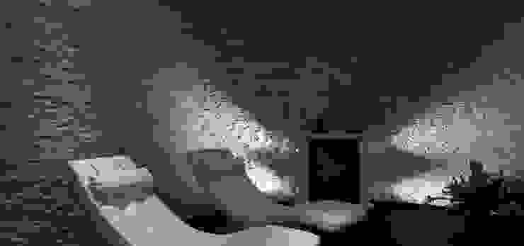 Natuursteenstrips in villa Moderne spa's van Xcel Stones Modern