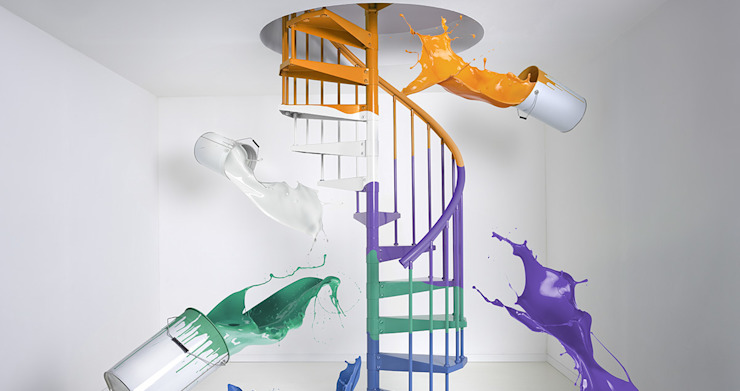 Fontanot – Albini & Fontanot S.p.A. Corridor, hallway & stairsStairs