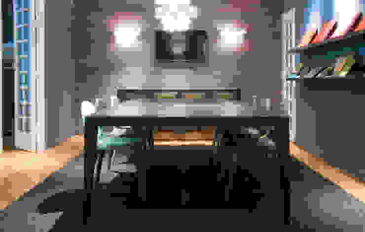 Sala de reuniones Salones de estilo ecléctico de DyD Interiorismo - Chelo Alcañíz Ecléctico
