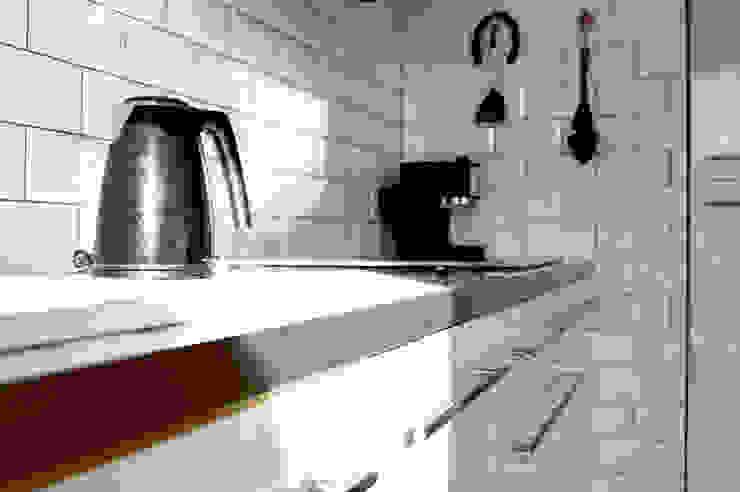 Zabudowa kuchenna Nowoczesna kuchnia od Denika Nowoczesny