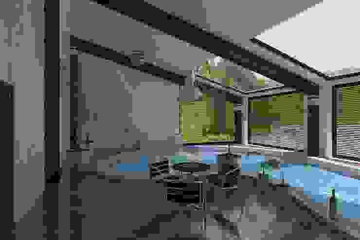 Визуализация бассейна. Бассейн в стиле минимализм от Москоу Дизайн Минимализм