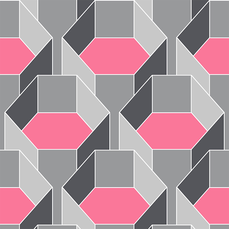 Hexa-Gone 3 wallpaper: modern  by quirk and rescue, Modern