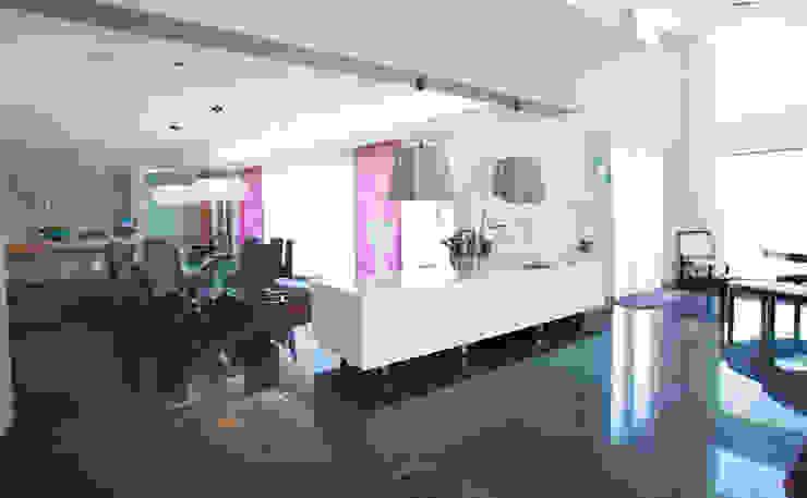 The Cliff—Jersey Modern dining room by Nethaus Ltd Modern