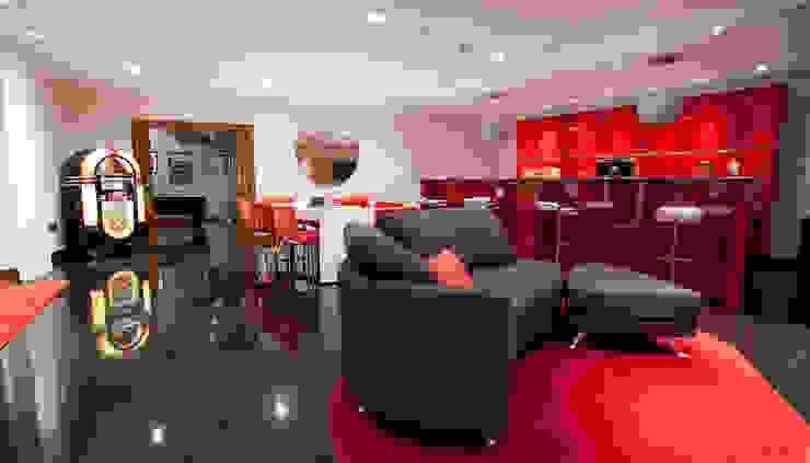 The Cliff—Jersey Modern living room by Nethaus Ltd Modern