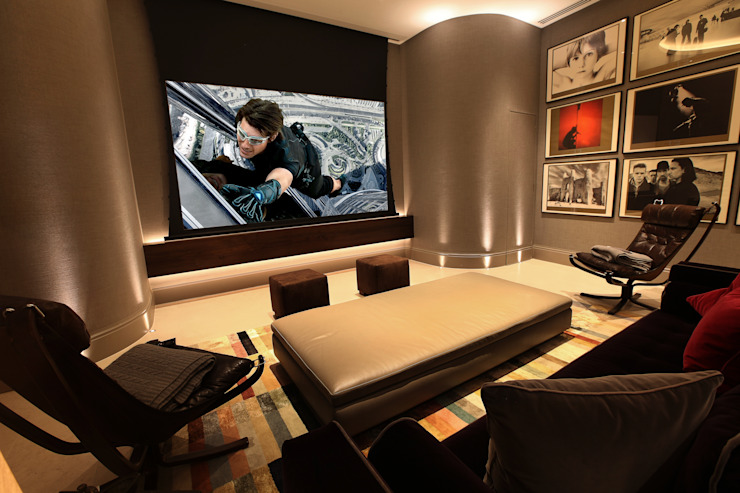 U2 Can Have a Home Cinema Like This Finite Solutions Media room