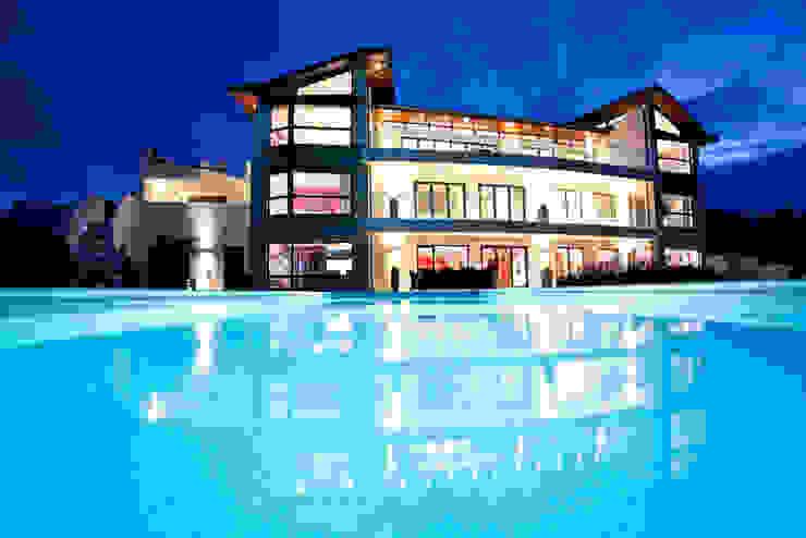 The Cliff—Jersey Modern houses by Nethaus Ltd Modern