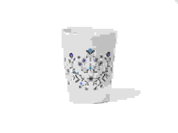 Porcelanowy kubek Folk marki Zulana (poj. 0,26l) od Zulana Klasyczny