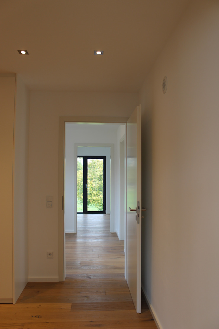 cordes architektur 現代風玄關、走廊與階梯