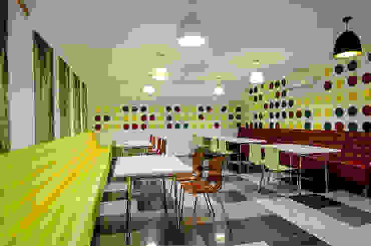 Офисное кафе, UkrLandFarming Офисы и магазины в стиле минимализм от UKRINTEL Минимализм