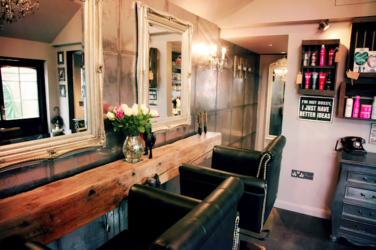 The shed hair and beauty Eclectic style clinics by detail design studio limited Eclectic