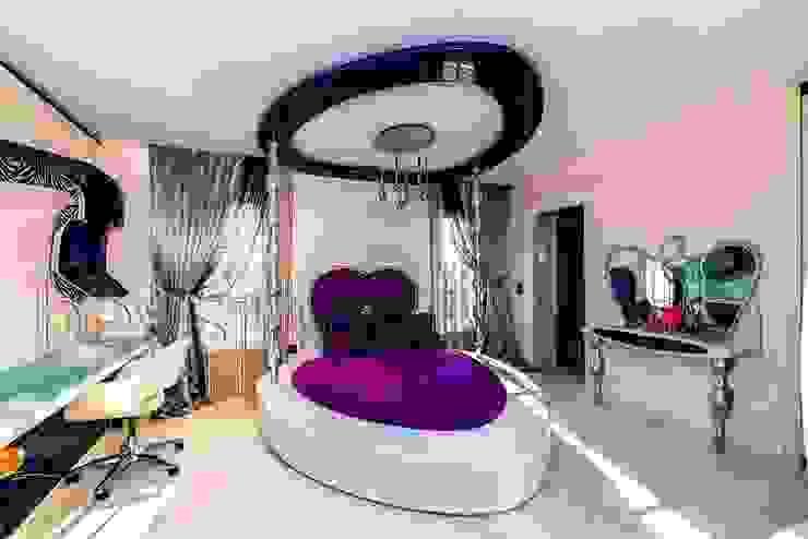 Kemer Country villaları özel Tasarım Genç Kız Odası Modern Çocuk Odası Akabe Mobilya San ve Tic. Ltd. Şti Modern