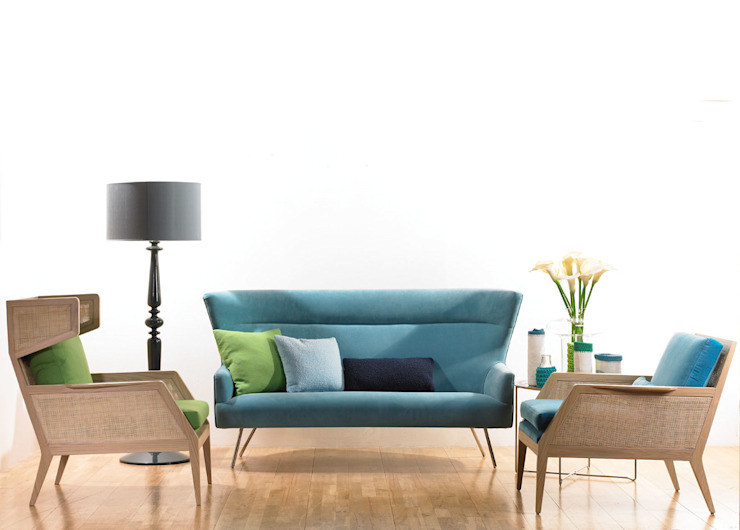 Tango Sofa: modern  by Archer + Co, Modern