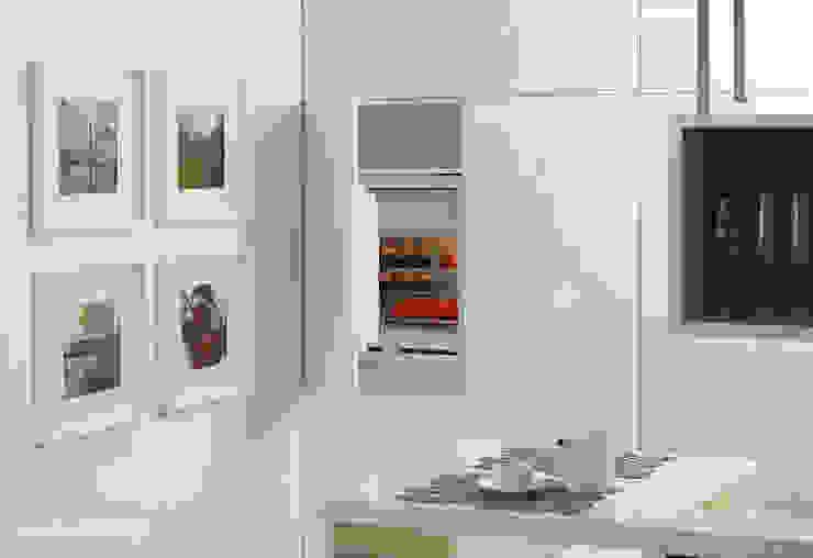 Mieszkanie w Poznaniu Minimalistyczna kuchnia od Dessi Minimalistyczny